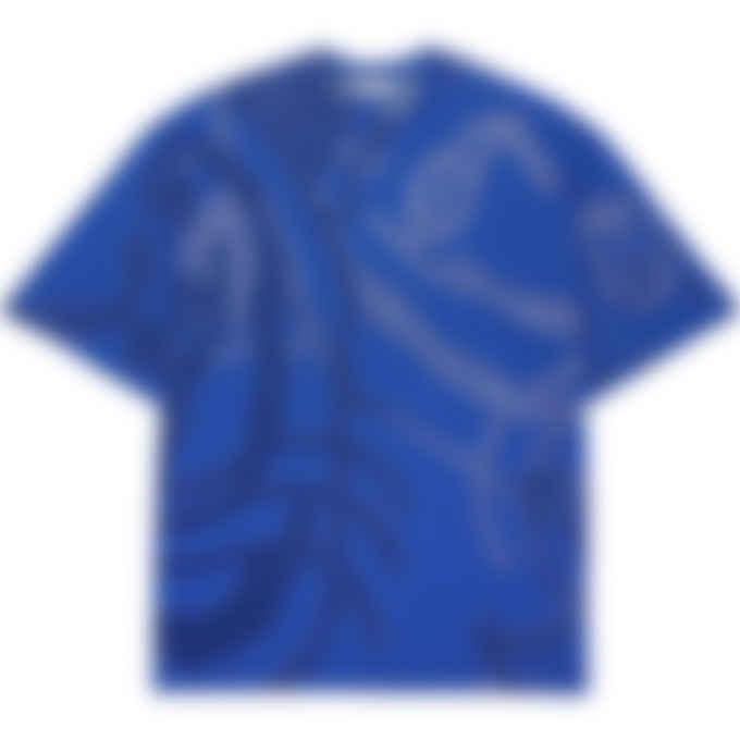 Kenzo - K-Tiger Knit Pullover T-Shirt - Cyan