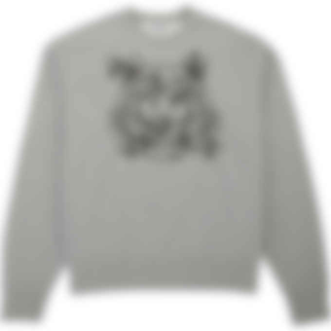 Kenzo - 'Bee a Tiger' Pullover Sweater - Pearl Grey