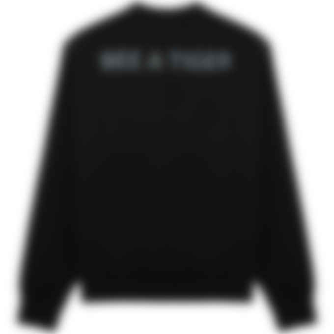 Kenzo - 'Bee a Tiger' Pullover Sweater - Black