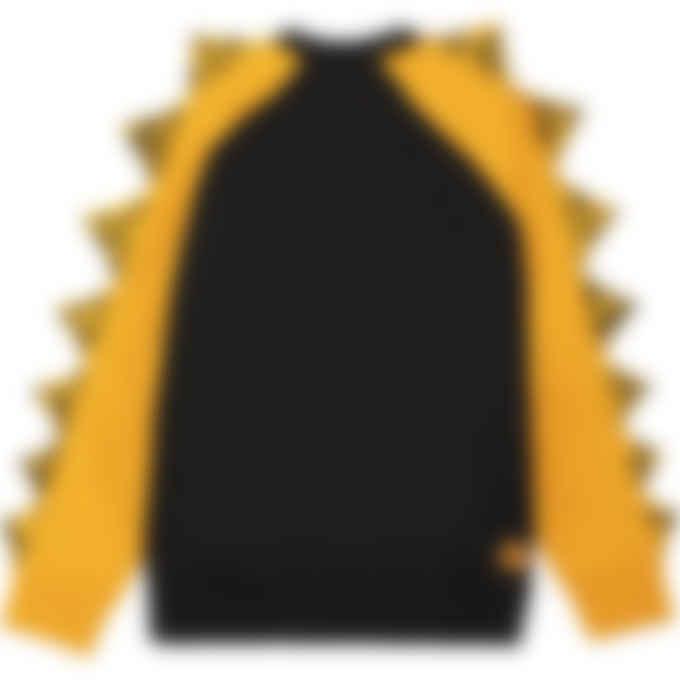 Kenzo - Kenzo x Kansaiyamamoto 'Smiling Tiger' Oversize Pullover Sweater - Black