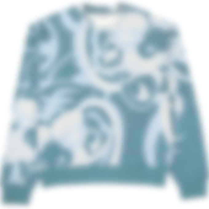 Kenzo - Kenzo x Kansaiyamamoto 'Three Tigers' Pullover Sweater - Blue