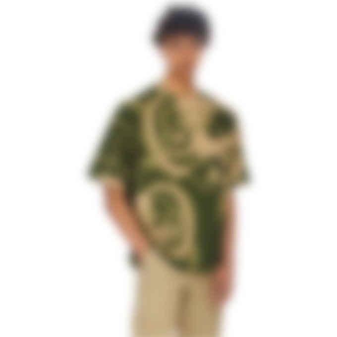 Kenzo - Kenzo x Kansaiyamamoto 'Three Tigers' Oversized T-Shirt - Olive