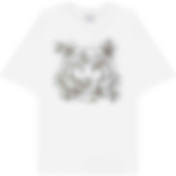 Kenzo - 'Bee a Tiger' T-Shirt - White
