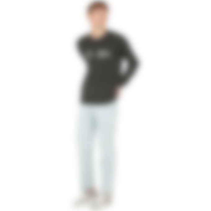 Kenzo - Multicolor Logo Knit Pullover Sweater - Stone Grey