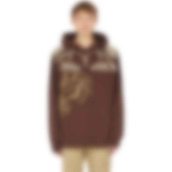 Kenzo - K-Tiger Hoodie - Dark Brown