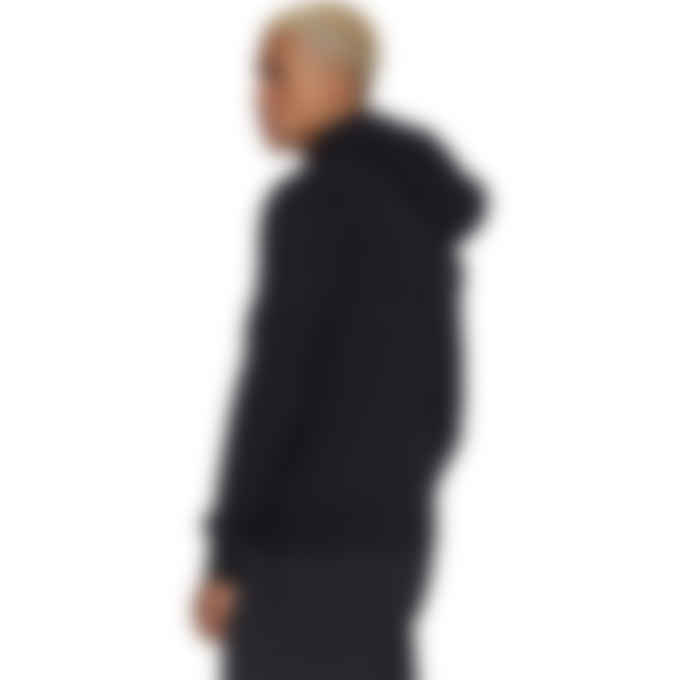 Y-3 - Classic Full Zip Back Logo Hoodie - Black