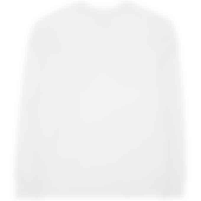 Y-3 - Classic Back Logo Crew Pullover Sweater - Core White