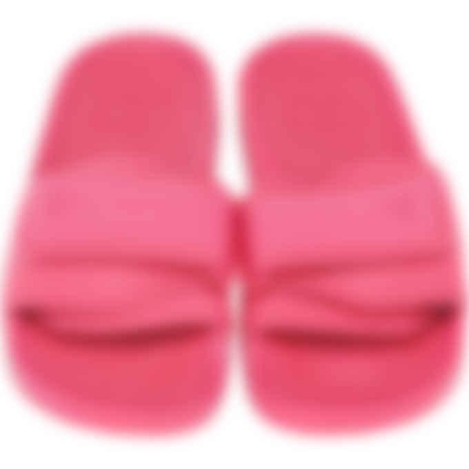 adidas Originals x Pharrell Williams - Pharrell Williams Boost Slides - Semi Solar Pink