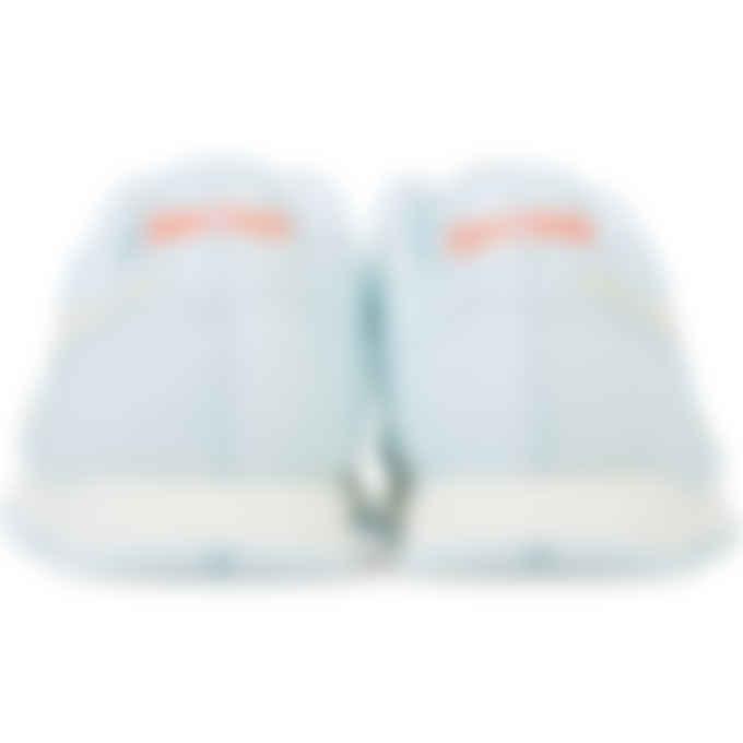 Reebok - Classic Leather - Chalk Blue/Classic White/Orange Flare