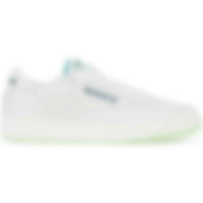 Reebok - Club C 85 - Chalk/Neon Mint/Forest Green