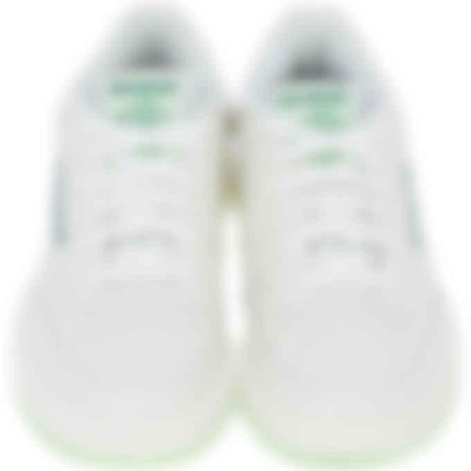 Reebok - Club C 85 - Chalk/Neon Mint/Forest Green