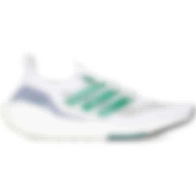 adidas Originals - Ultraboost 21 - Cloud White/Sub Green/Core Black