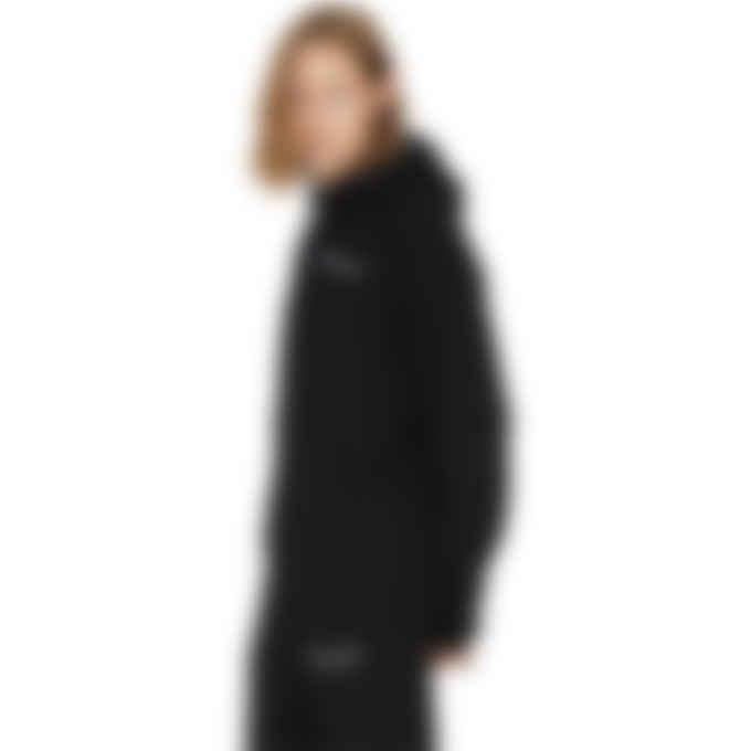 Champion - Reverse Weave Script Pullover Hoodie - Black