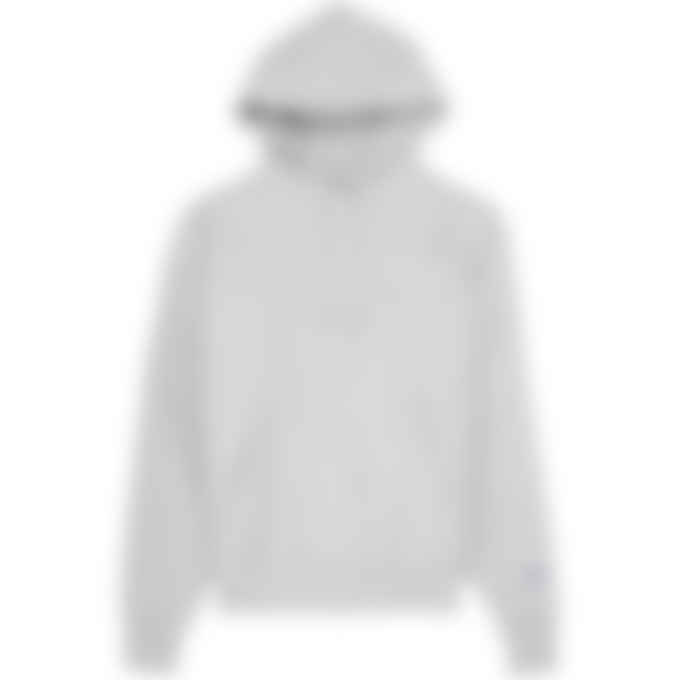 Champion - Reverse Weave Script Pullover Hoodie - Oxford Grey