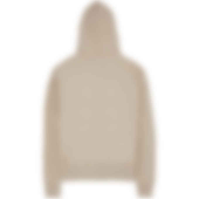 Champion - Reverse Weave Script Pullover Hoodie - Dark Khaki