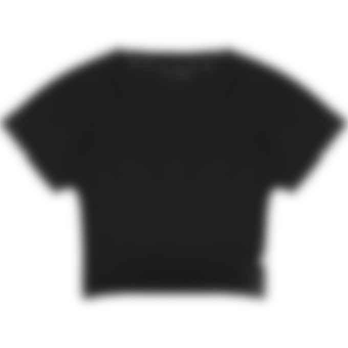 adidas Originals - Recycled Cotton Crop Top - Black