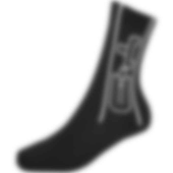Y-3 - CH2 Socks -Black/Core White