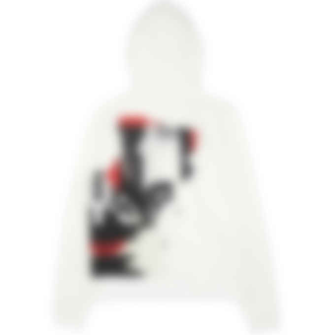 Y-3 - CH1 Graphic Artwork Hoodie - Core White
