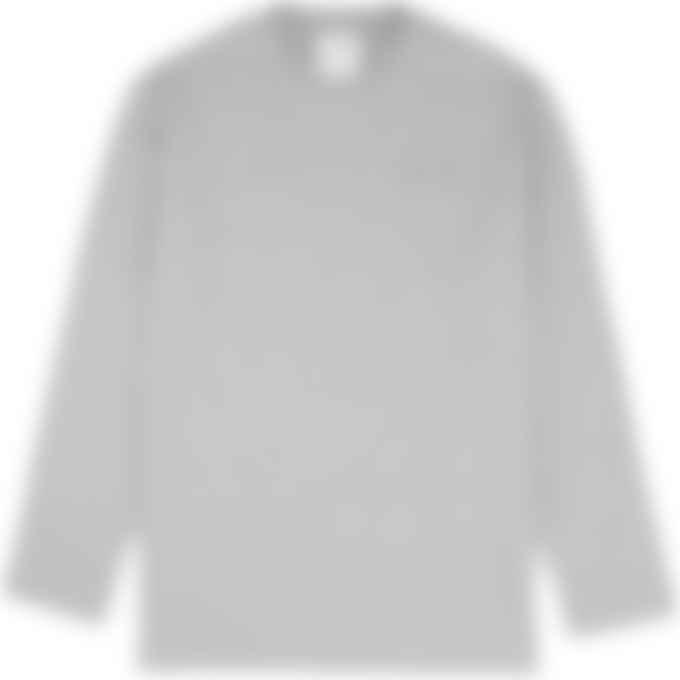Y-3 - Classic Long Sleeve Logo T-Shirt - Medium Grey Heather