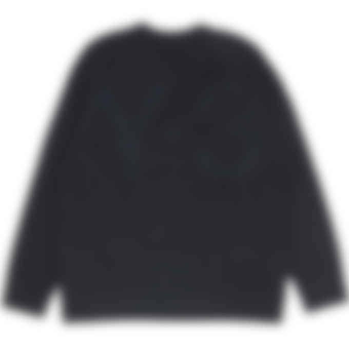 Y-3 - Classic Winter Knit Crew Sweater - Charcoal Melange