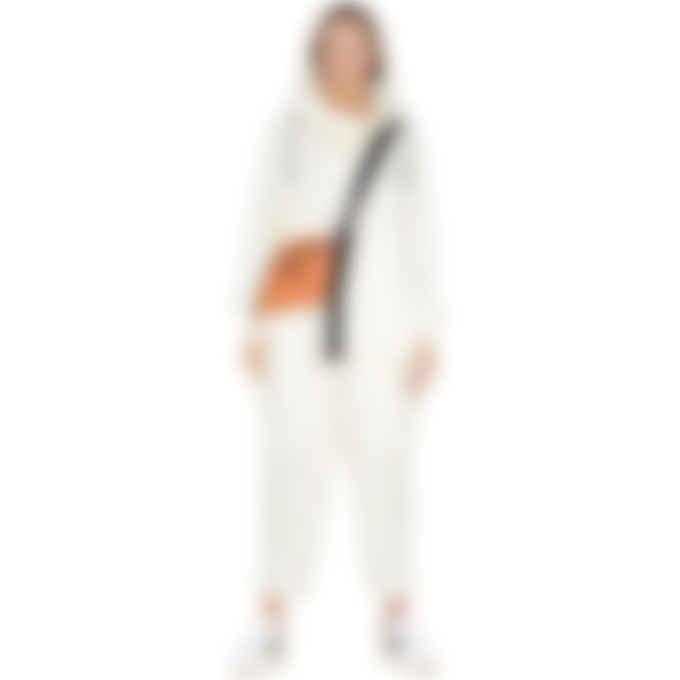 Y-3 - CH3 Tech Silk Cargo Pants - Cream White
