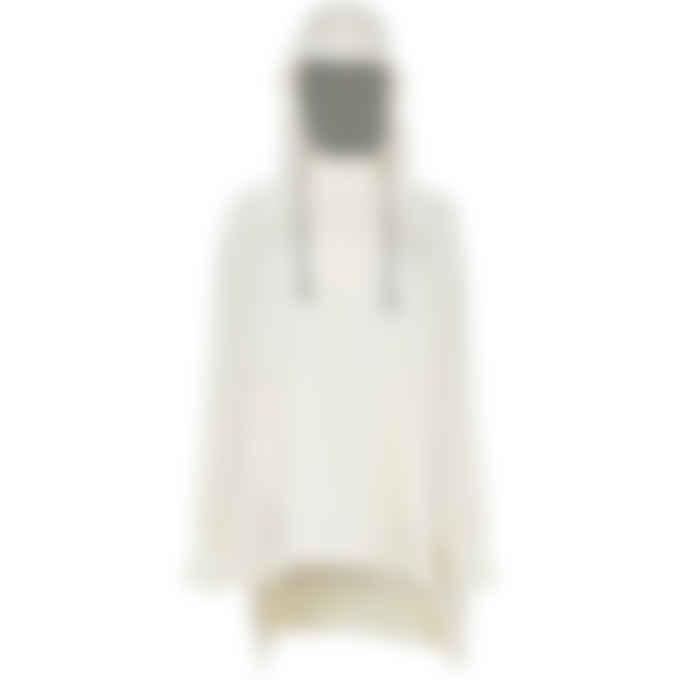 Y-3 - CH3 Tech Silk Hooded Top - Cream White