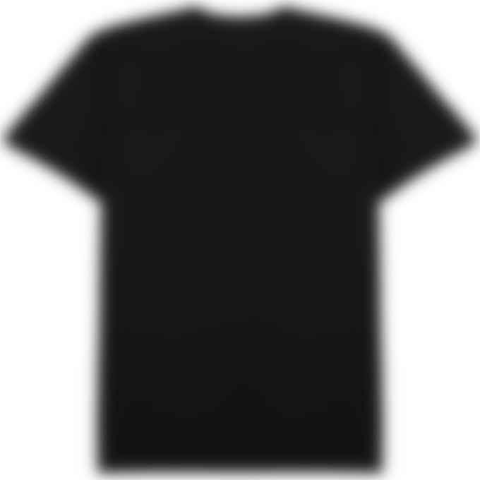 Maison Kitsuné - Grey Fox Head Patch Classic T-Shirt - Black