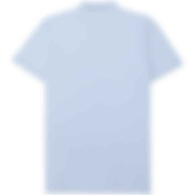 Maison Kitsuné - Fox Head Patch Classic Polo Shirt - Light Blue