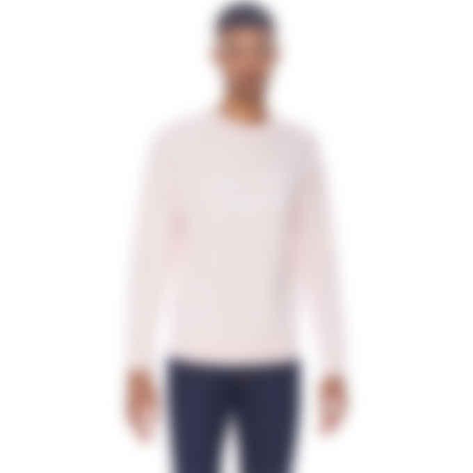 Maison Kitsuné - Handwriting Clean Pullover Sweater - Light Pink