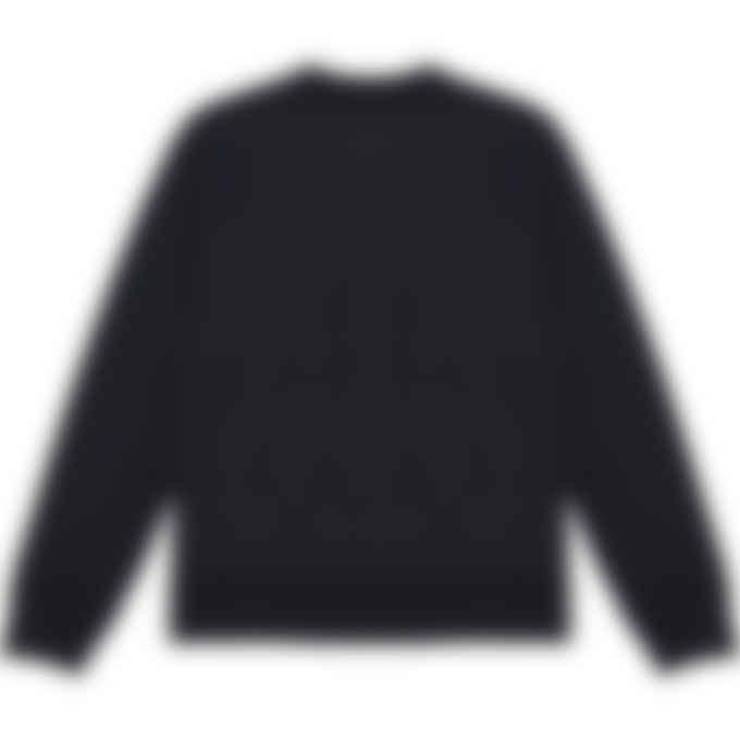 Maison Kitsuné - Varsity Fox Pullover Sweater - Dark Navy