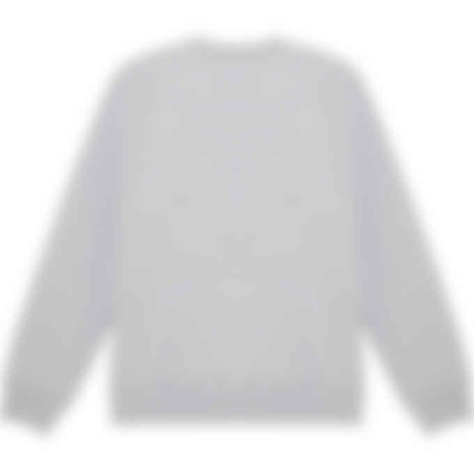 Maison Kitsuné - Varsity Fox Pullover Sweater - Grey Melange