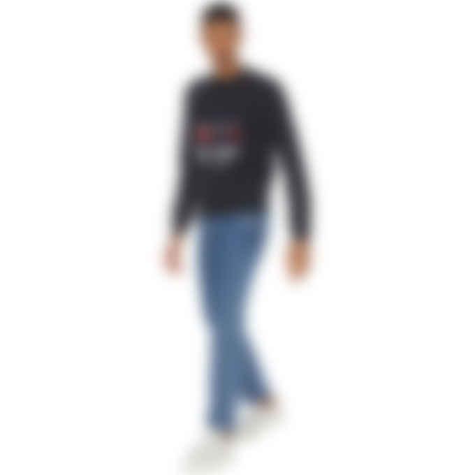 Maison Kitsuné - Big Fox Pullover Sweater - Black