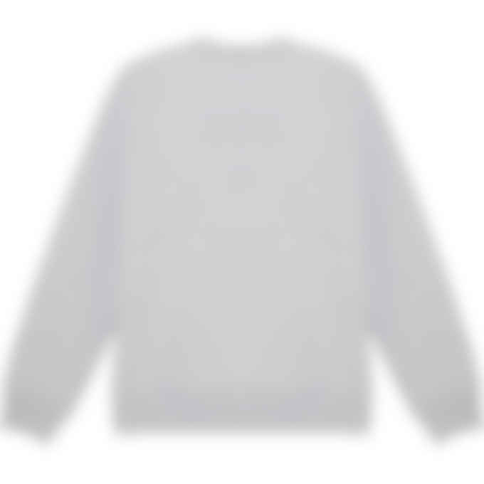 Maison Kitsuné - Big Fox Pullover Sweater - Grey Melange