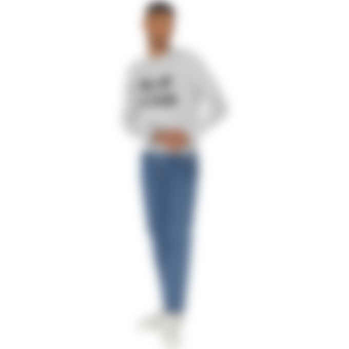 Maison Kitsuné - Big Fox Pullover Sweater - Grey Melange