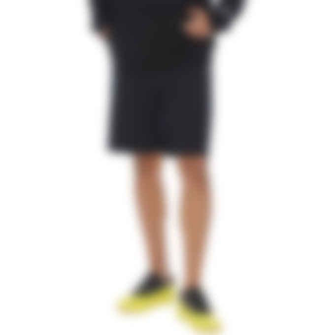 Maison Kitsuné - Tonal Fox Jogger Shorts - Black
