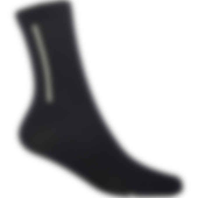 Y-3 - Classic Crew Socks - Black/Ecru Tint