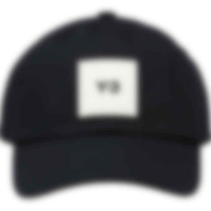 Y-3 - Square Label Logo Cap - Black