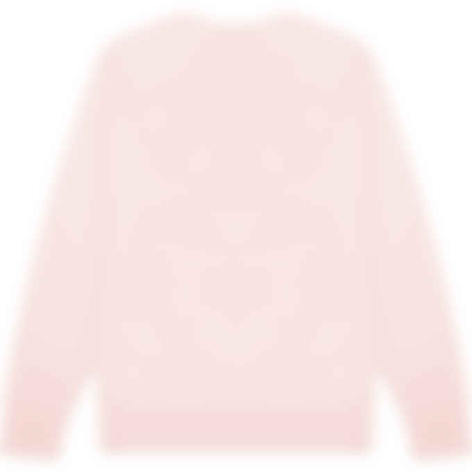 Maison Kitsuné - Chillax Fox Patch Classic Pullover Sweater - Light Pink