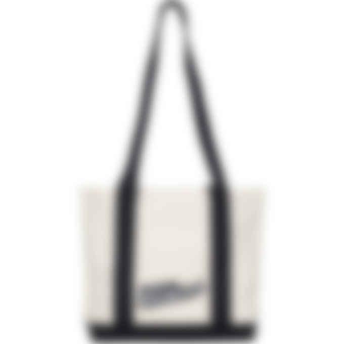 Maison Kitsuné - Varsity Fox Small Shopping Bag - Ecru