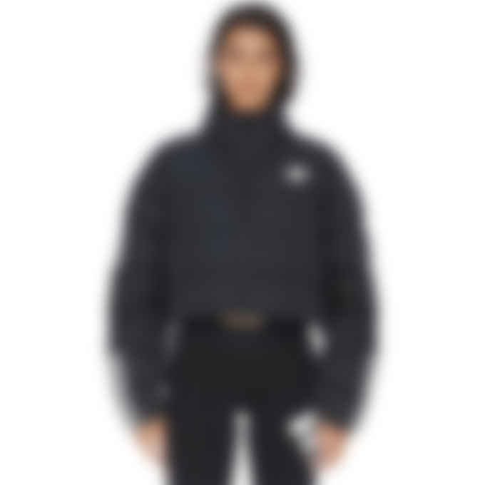 adidas Originals - Short Synthetic Down Puffer Jacket - Black