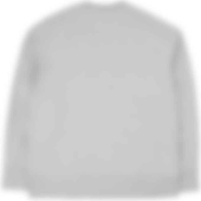 Y-3 - Classic Chest Logo Crew Pullover Sweater - Medium Grey Heather
