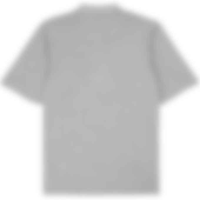 Y-3 - Classic Pique Polo Shirt - Medium Grey Heather