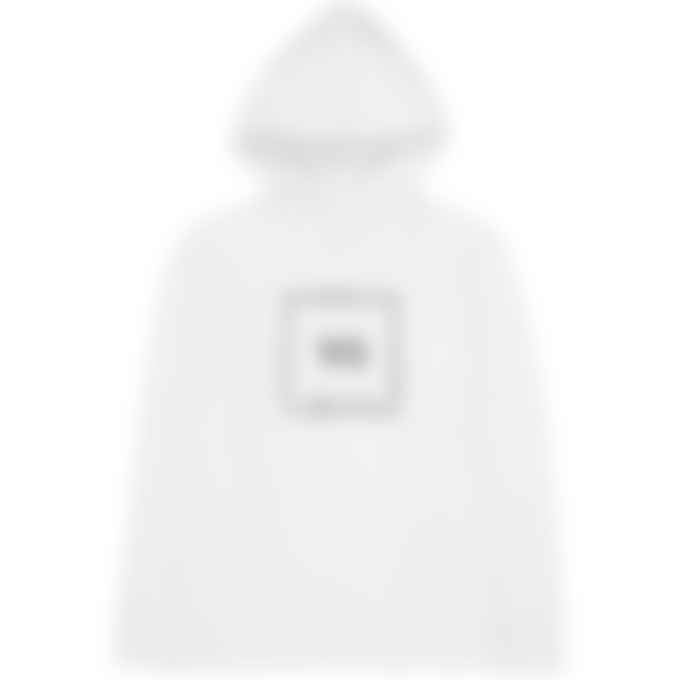 Y-3 - Square Label Graphic Hoodie - Core White