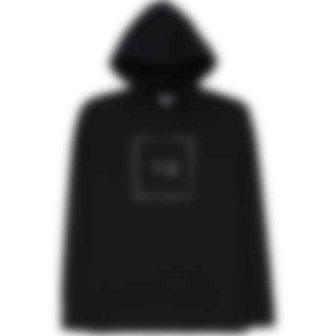 Y-3 - Square Label Graphic Hoodie - Black