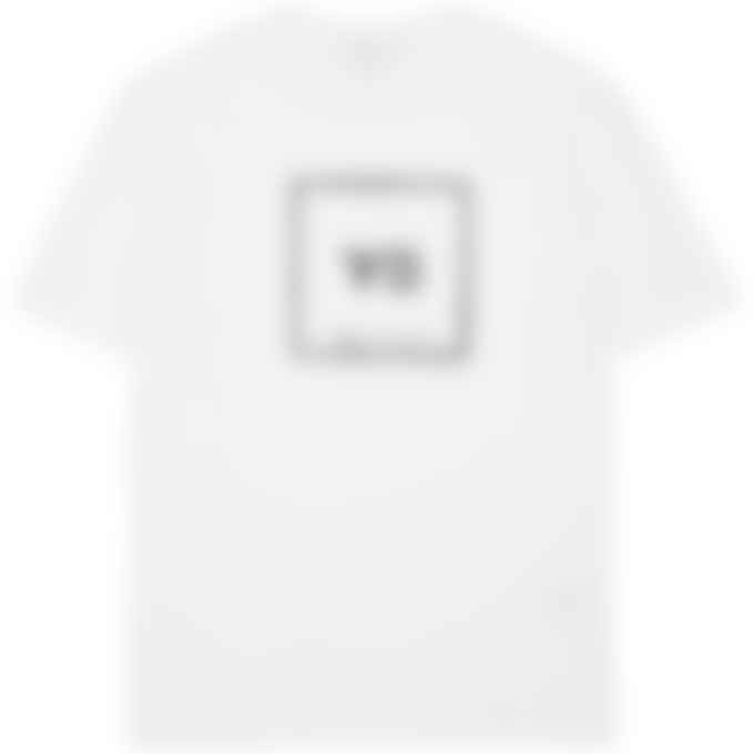 Y-3 - Square Label Graphic T-Shirt - Core White