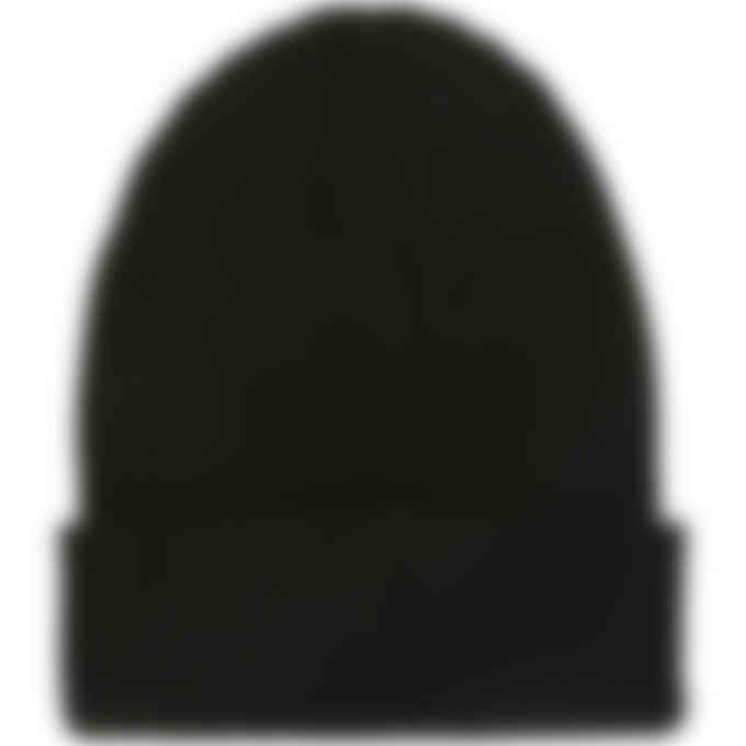 Champion - Ribbed Patch Beanie - Black