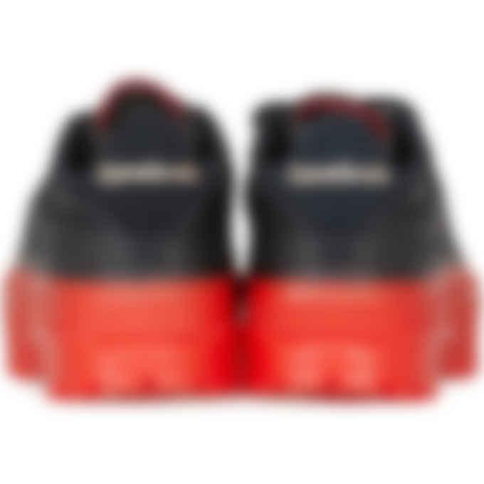 Reebok - Cardi B Club C - Core Black/Vector Red