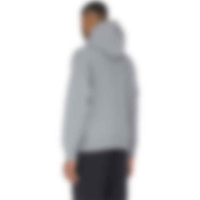 adidas Originals - Adicolor Trefoil Hoodie - Grey Three