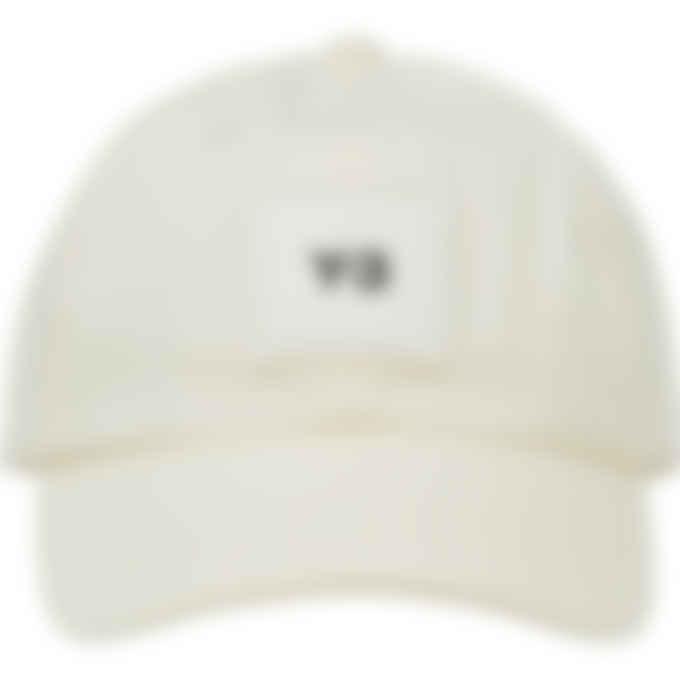 Y-3 - Square Label Logo Cap - Cream White