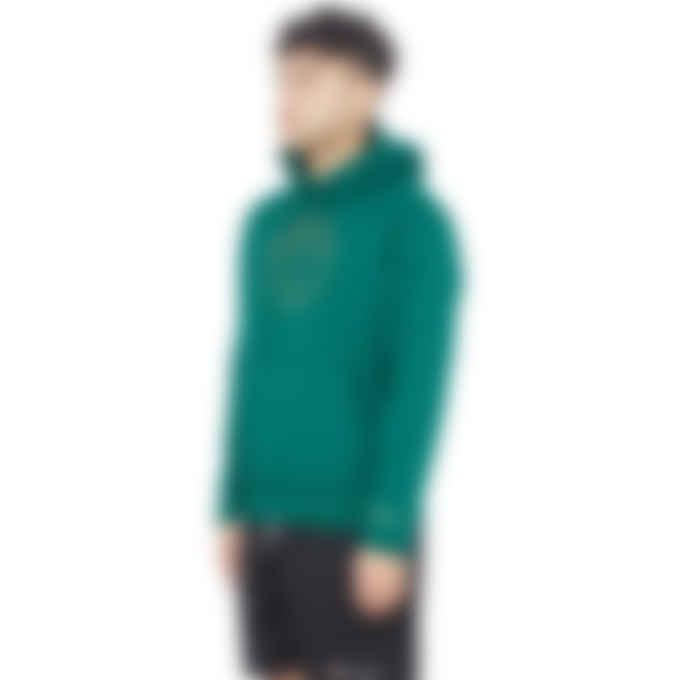 adidas Originals - Deco Trefoil Hoodie - Collegiate Green